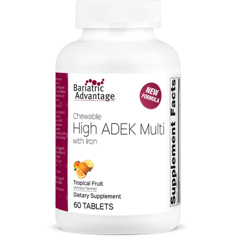 Chewable High ADEK Multi Tropical Fruit